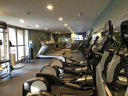 Recently renovated Fitness Center with new/replaced equipment